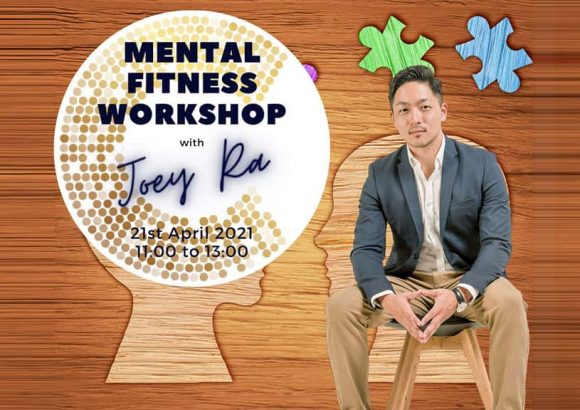 Mental fitness workshop with Joey Ra